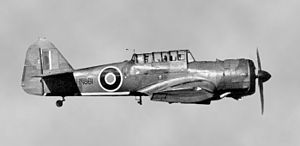 RAF Cammeringham - A Miles Martinet airborne target-towing tug aircraft