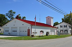 Fire station on State Route 177