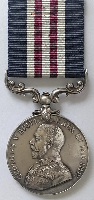 Military Medal - Image: Military Medal, George V version (Obverse)