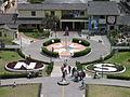 Mitad del Mundo Blick vom Monument.JPG