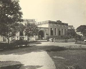 Mitford Hospital, Dhaka - Mitford Hospital, Dhaka. Photograph taken by Fritz Kapp in 1904.