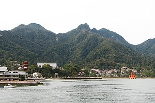 Itsukushima island in Hiroshima, Japan