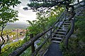 Mohonk Mountain House 2011 Hiking Trail against Guest Rooms 2 FRD 3281.jpg