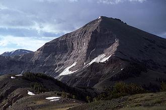 Mount Langford - Image: Moiunt Langford YNP