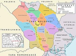 Moldova 1601-1718