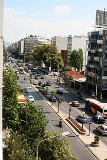 050ae40244 Η οδός Μοναστηρίου και η Πλατεία Δημοκρατίας της Θεσσαλονίκης.