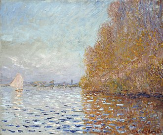 Argenteuil Basin with a Single Sailboat - Image: Monet Argenteuil Basin With A Single Sailboat
