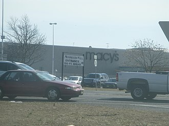 Monmouth Mall - Entrance to the mall from Route 36 eastbound.