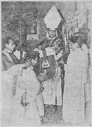 Carlos Duarte Costa - Duarte Costa consecrates Castillo Mendez in 1948