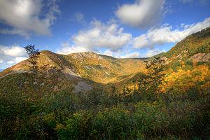 Cape Breton Highlands National Park - Autumn colours in the park