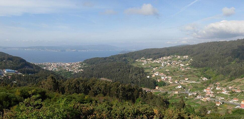 Monte Libureiro, lugar de Meiro, Bueu. Galiza