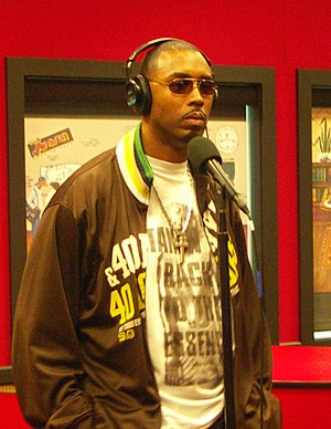 Montell Jordan - Montell Jordan at the Tom Joyner studios in 2008