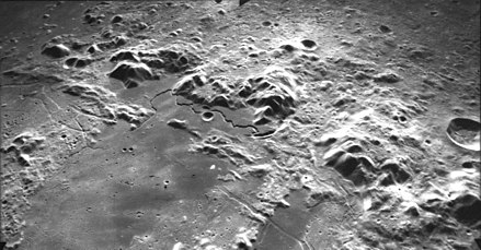 Montes Apenninus on the Moon was formed by an impact event. Montes Apenninus AS15-M-1423.jpg