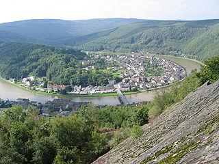 Monthermé Commune in Grand Est, France