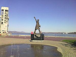 Raoul Hunter - Image: Monument à la mémoire des marins de la marine marchande canadienne