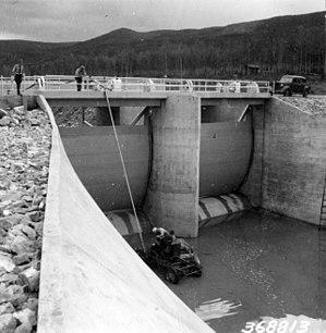 Moon Lake (Utah) - Moon Lake Dam, 1938