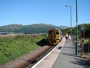 Morfa Mawddach railway station - Image: Morfa Mawddach Station