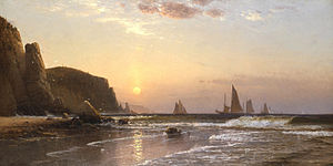 Morning at Grand Manan - Image: Morning at Grand Manan by Alfred Thompson Bricher
