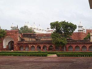 Moti Masjid (Agra Fort) - Exterior view Moti Masjid, Agra.