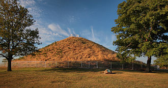Miamisburg, Ohio - Miamisburg Mound, the largest conical mound in Ohio, is attributed to the Adena Culture, 1000-200 BCE.