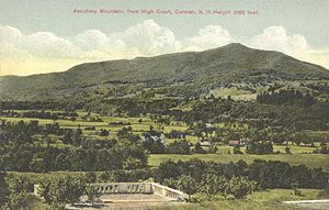 Cornish, New Hampshire - Image: Mount Ascutney from High Court, Cornish, NH