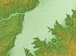 Mount Minakami Lava Dome Relief Map, SRTM-1.jpg