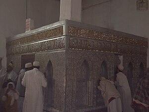 Arwa al-Sulayhi - Mausoleum of Hurrat-ul-Malika inside Queen Arwa Mosque, Jibla, Yemen