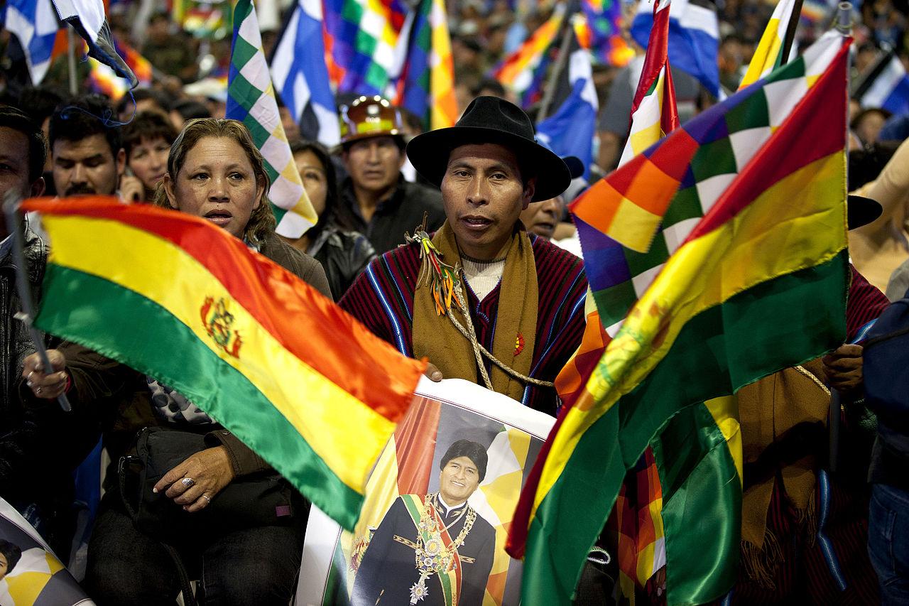 Movimientos sociales respaldan al Presidente Evo Morales (10196046836).jpg