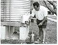 Mr. Tuteru Arahu, Health Inspector, Rarotonga, 1965.jpg