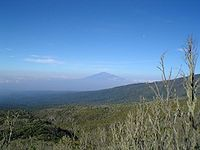 Mt Meru from Machame Hut in 2006.jpeg