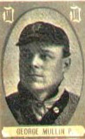 George Mullin (baseball) - George Mullin, 1909 Cabañas Cuban Baseball Card