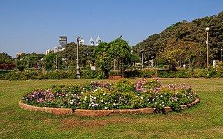 recreational garden in Mumbai, India