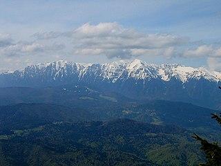 Bucegi Mountains Mountain range in Romania
