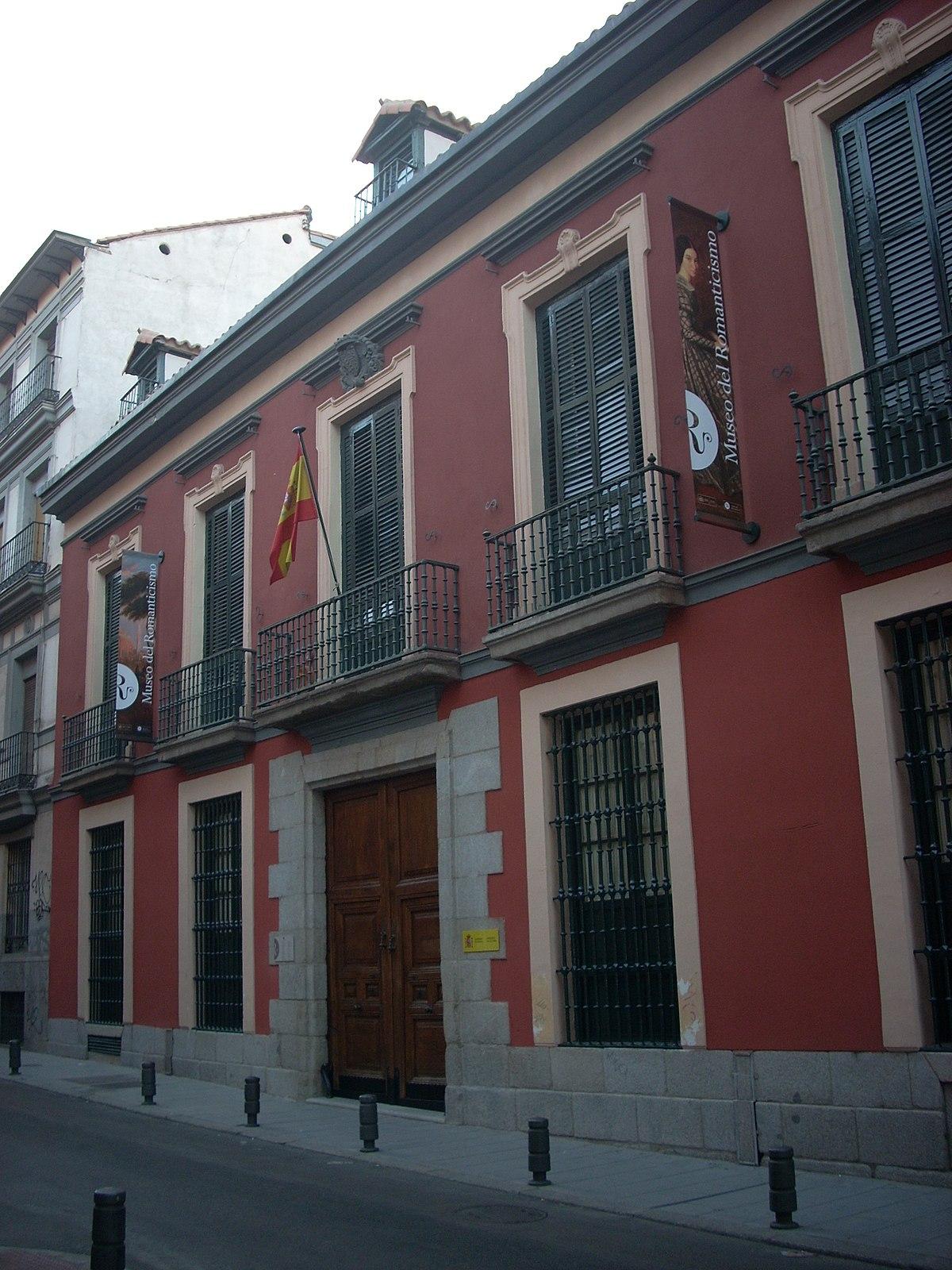 Museo Romantico.Museum Of Romanticism Madrid Wikipedia