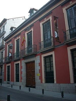 Museum of Romanticism (Madrid) - Image: Museoromanticismo