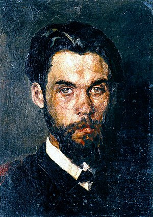 Mykola Pymonenko - Self portrait (1886)