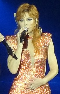 Mylène Farmer Canadian born French recording artist; singer, songwriter
