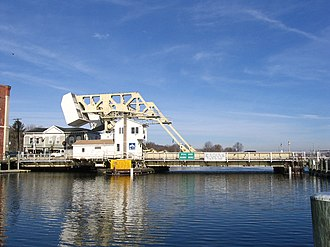 Bascule bridge - Image: Mystic River Bascule Bridge 4