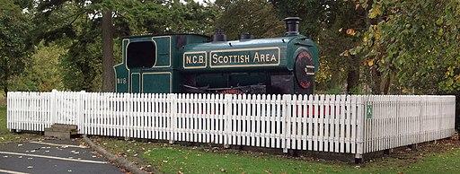 NCB Locomotive at Polkemmet Country Park