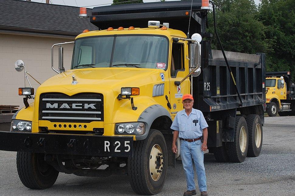 NCDOT-Mack-dump-truck-20110706-5957557063