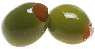 Olive (color) - Green olives