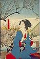 NDL-DC 1301519 02-Tsukioka Yoshitoshi-全盛四季春 荏原郡原村立春梅園-crd.jpg