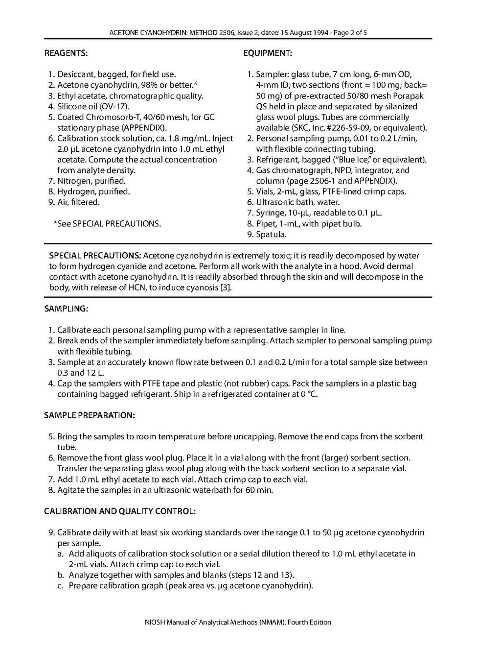 Page:NIOSH Manual of Analytical Methods - 2506 pdf/2