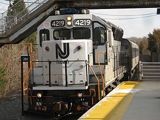 Atlantic City Line NJ Transit commuter rail line