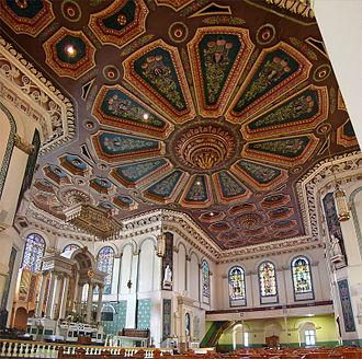 Basilica of St. John the Baptist - At the transept crossing