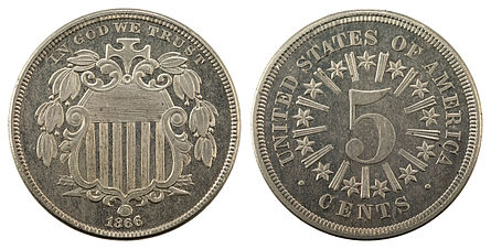 The Shield nickel