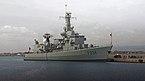 NRP D. Francisco de Almeida (F334). Syracuse port. Sicily, Italy.jpg