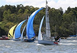 Cherub (dinghy) - Image: NSW06 07Abbottsford