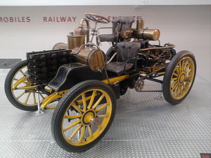 Tatra (company) - Rennzweier, the first race car made by the company in 1900