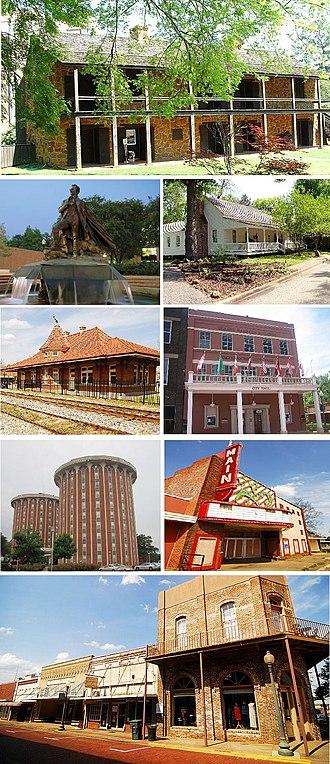 Nacogdoches, Texas - Image: Nacogdoches TX Montage